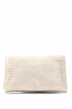 abro Clutch natural white animal pattern casual look