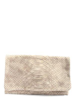 abro Clutch natural white allover print casual look
