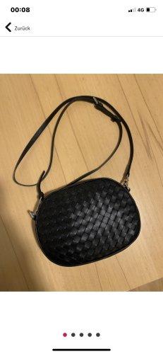 abro Crossbody bag black leather