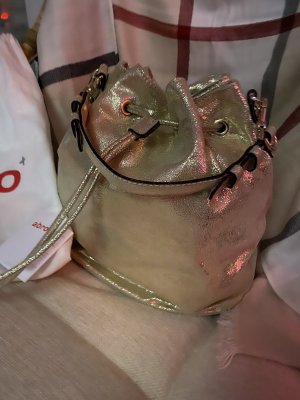 abro Pouch Bag gold-colored