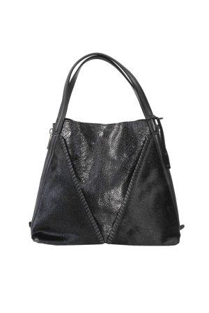 abro Handbag black leather