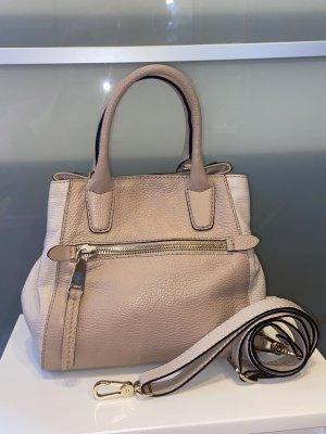 abro Handbag natural white-dusky pink leather