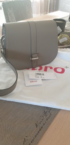 abro Crossbody bag grey leather