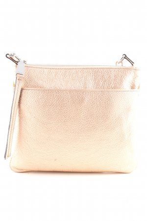 abro Handtasche goldfarben Business-Look