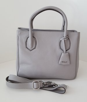 abro Bolso barrel color plata