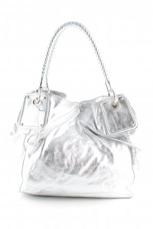 abro Carry Bag silver-colored extravagant style