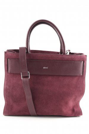 abro Sac Baril rouge style d'affaires