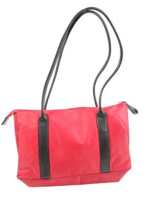 abro Sac porté épaule rouge-noir style décontracté
