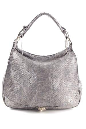abro Sac hobo gris clair motif animal style décontracté
