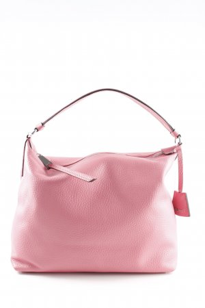 "abro Hobo ""Cervo Leather Hobo Bag Peony"" rosa"