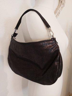 Abro kleine Handtasche schwarz glänzend Neu ohne Etikett