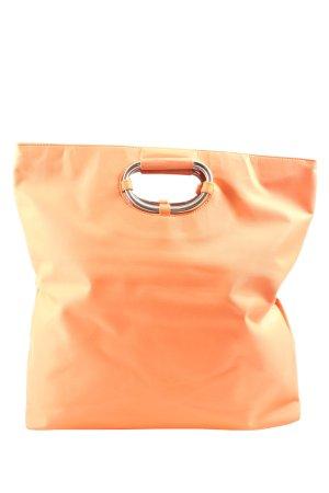 abro Bolso tipo cesta naranja claro look casual