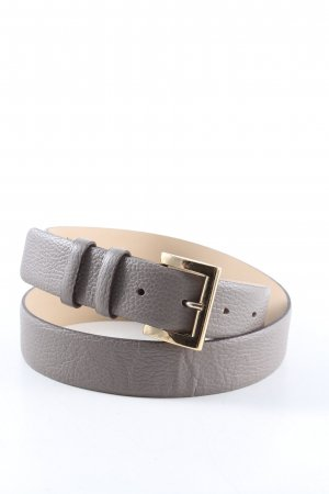 abro Leather Belt light grey casual look
