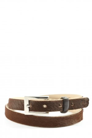 abro Leather Belt brown casual look
