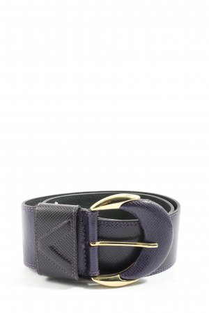 abro Leather Belt lilac casual look