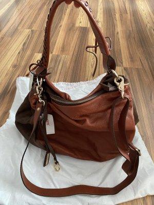 abro Handbag cognac-coloured-dark brown