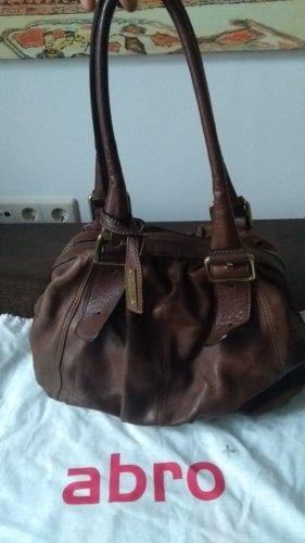 abro Lederne Damenhandtasche