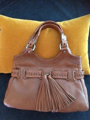 abro Mobile Phone Case cognac-coloured-brown leather