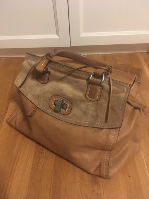 abro Handbag camel leather