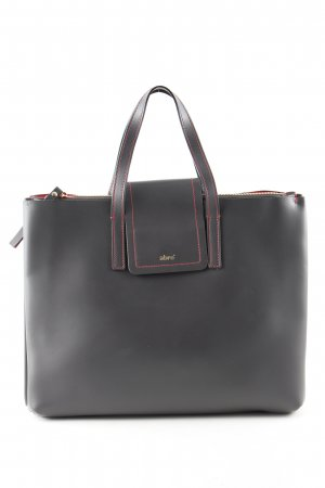 abro Satchel schwarz Business-Look