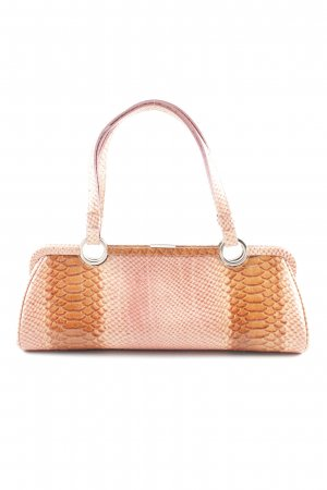abro Shoulder Bag light orange allover print elegant
