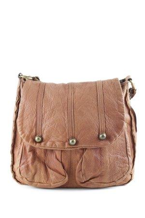 abro Shoulder Bag cognac-coloured casual look