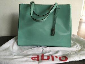 ABRO- stylische Handtasche in mint