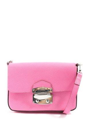 abro Crossbody bag pink-silver-colored casual look