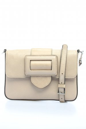 "abro Bandolera ""Mini Cross Body Bag"" crema"