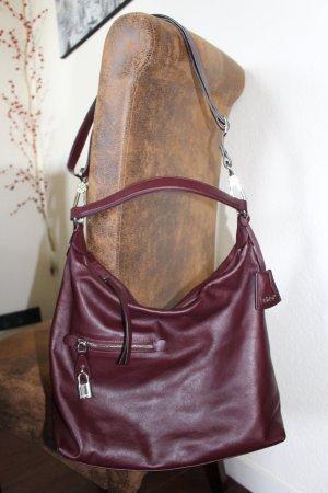 abro Crossbody bag bordeaux leather