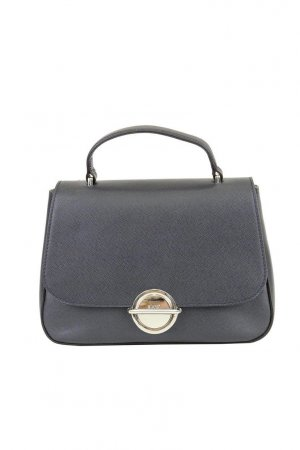 abro Crossbody bag blue leather