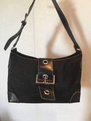 ABRO Vintage-Henkeltasche Nylon schwarz