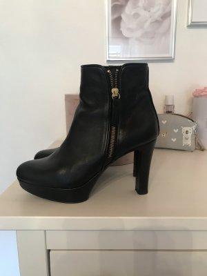 Unisa Heel Pantolettes black