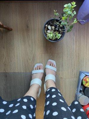 Absatz Pantoletten / heels / Sandals / Pantolette
