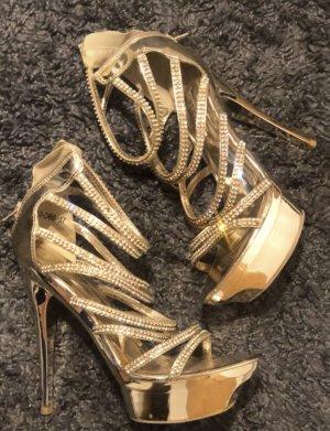 Absatz Schuhe mit Plattform