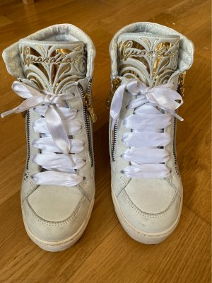 Alberto Guardiani Heel Sneakers white-gold-colored