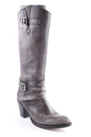 Absatz Stiefel grau Farbverlauf Casual-Look