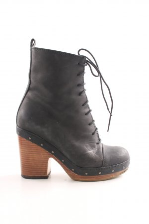 Laarzen met hak veelkleurig casual uitstraling
