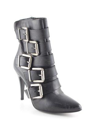 Absatz Stiefel schwarz Casual-Look