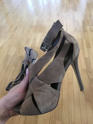 BCBG High Heel Sandal light brown-brown
