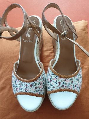 Young Spirit Wedge Pumps white-light brown