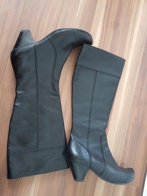 Caprice Heel Boots black leather