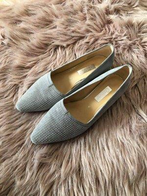 Gabor Platform Sandals silver-colored-light grey