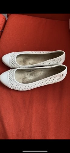 Deichmann Mary Jane Ballerinas white