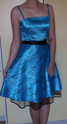 Abschlussballkleid blau