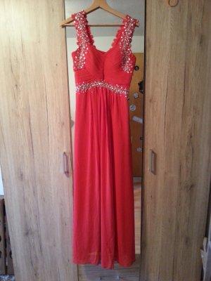 -8- Venice Suknia balowa czerwony