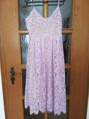 H&M Conscious Exclusive Lace Dress mauve