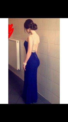 Vestido de baile azul