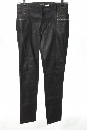Absolu Paris High-Waist Hose schwarz Casual-Look