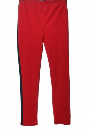 Absolu Paris Jeggings rojo-negro look casual